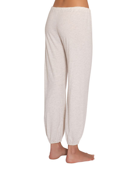 Image 2 of 2: Eberjey Heather Slouchy Lounge Pants