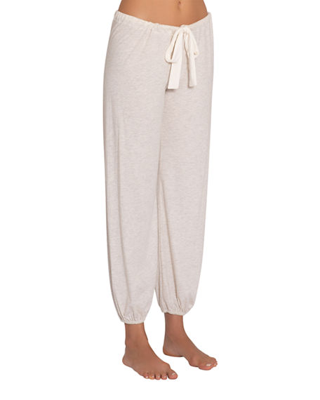 Image 1 of 2: Eberjey Heather Slouchy Lounge Pants