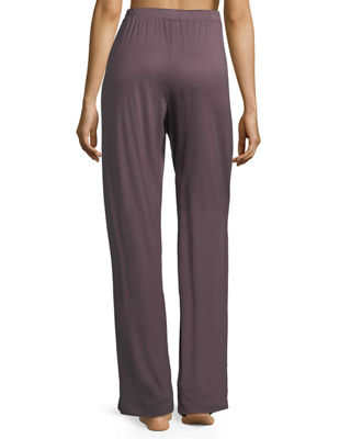 Image 3 of 4: Camille Straight-Leg Lounge Pants