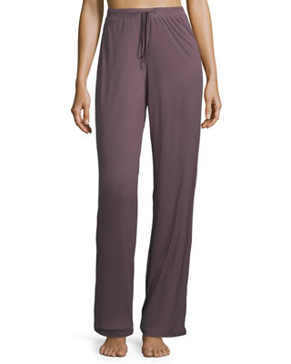 Image 1 of 4: Camille Straight-Leg Lounge Pants