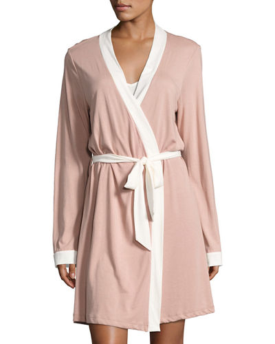 Cosabella Bella Bridal Cotton-Blend Robe