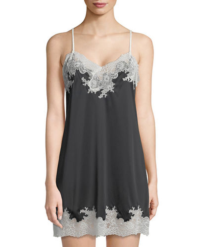 Natori Enchant Lace-Trim Chemise