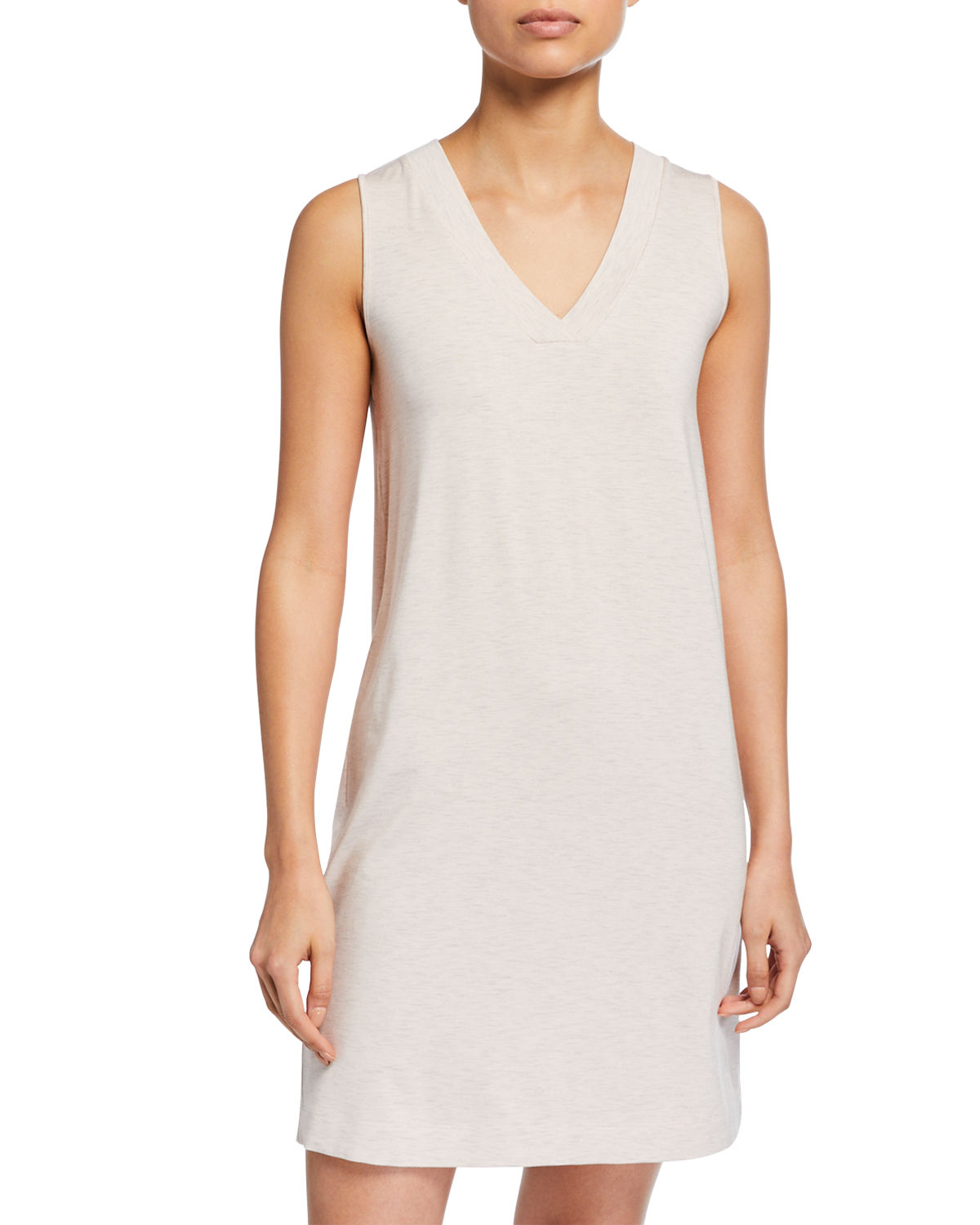 Hanro Tops CHAMPAGNE TANK GOWN