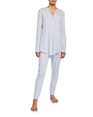 Hanro Pure Essence Two-Piece Pajama Set