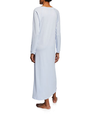 Image 2 of 2: Pure Essence Long-Sleeve Long Nightgown
