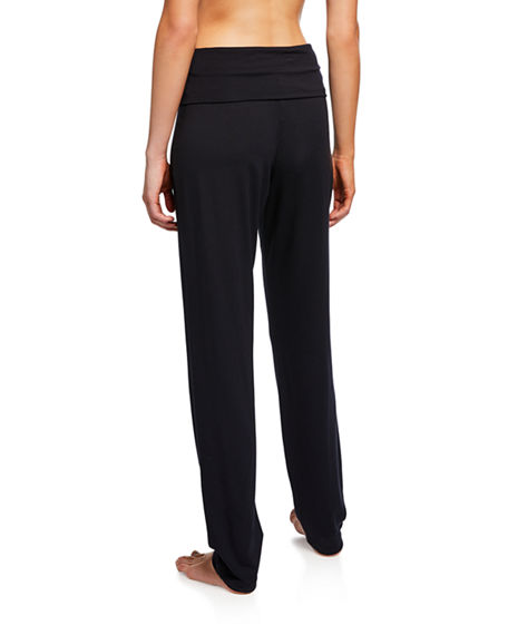 Image 2 of 3: Hanro Yoga Fold Over-Waist Pants