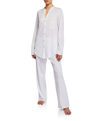 Image 1 of 2: Cotton Deluxe Pajama Set
