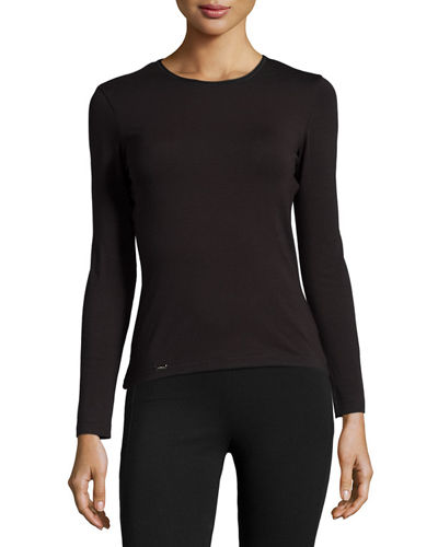 La Perla New Project Long-Sleeve Lounge Top