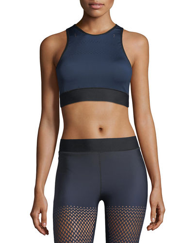 Altitude Silk Ultramesh Crop Top Bra