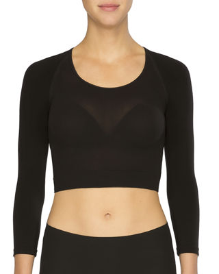 Spanx Arm Tights Solid Shaper Crop Top