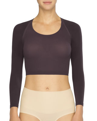 Arm Tights Solid Shaper Top