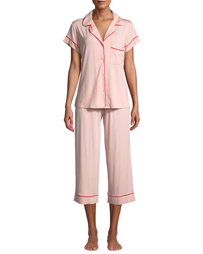 b5a3aa2f262 Quick Look. Eberjey · Gisele Cropped Two-Piece Jersey Pajama Set