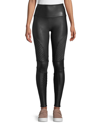 differently website for discount official images Womens Faux Leather Leggings | Neiman Marcus