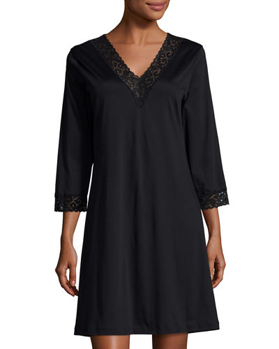 Moments Lace-Trim Sleepshirt