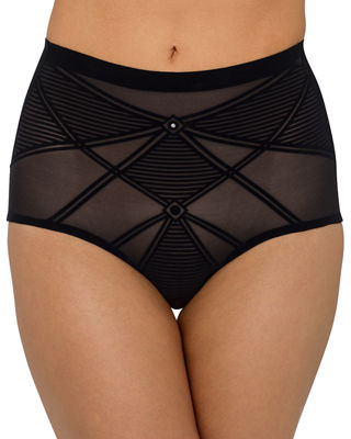 Sheer Decadence High-Waist Briefs