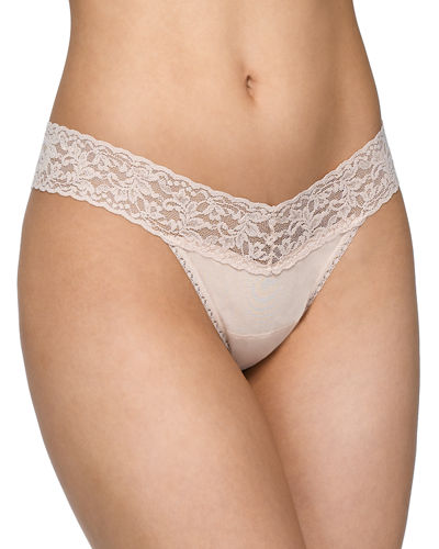 Low-Rise Organic Cotton Thong
