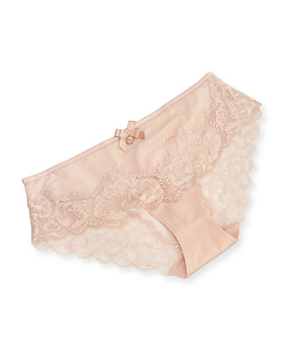 Orangerie Lace-Trim Hipster Briefs