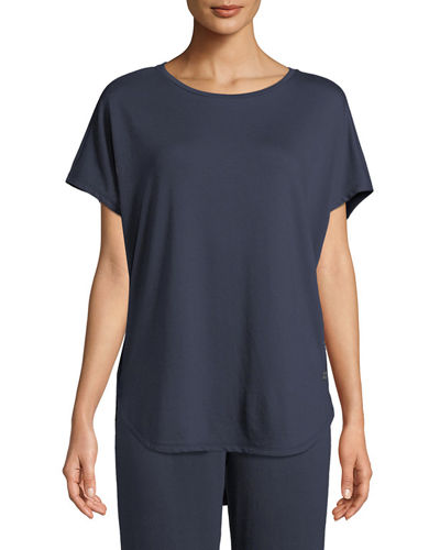 Zen Short-Sleeve Caftan Top