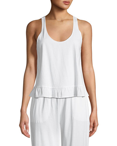 Ruffled Lounge Tank