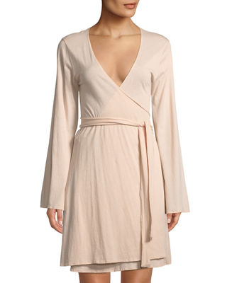 Skin Karin Cotton Wrap Robe