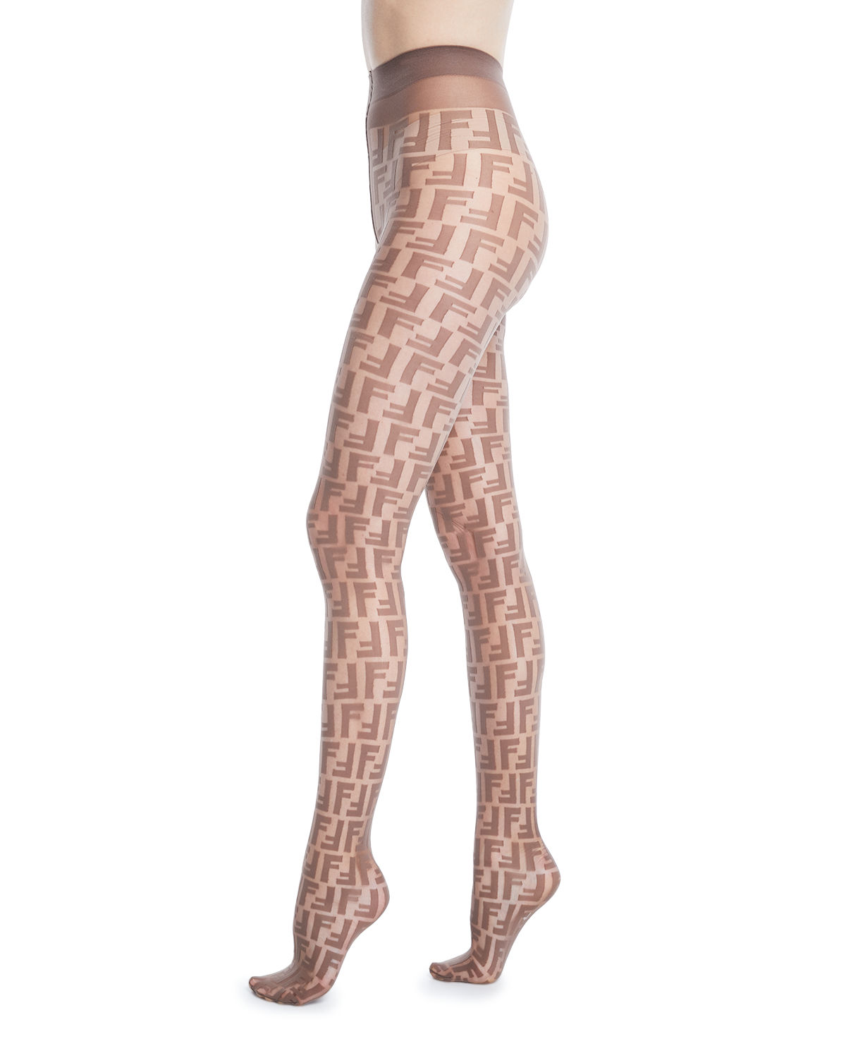 39bac4794ffa Fendi Double-F Logo Tights