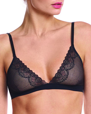 Image 1 of 2: Perfect Stretch Lace Bralette