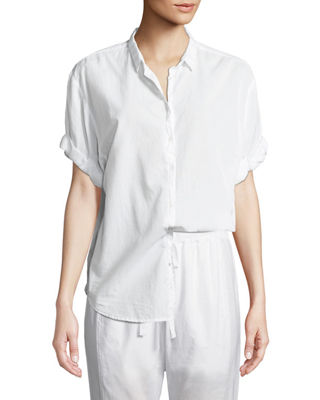 Channing Cotton Lounge Shirt