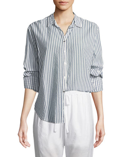 Beau Striped Lounge Shirt