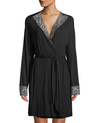 Cosabella Pret-a-Porter Lace-Trim Short Robe and Matching Items