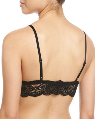 Image 2 of 2: Sonia Lace-Trim Bralette