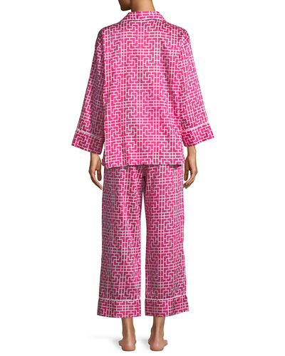 Abstract Maze Classic Pajama Set