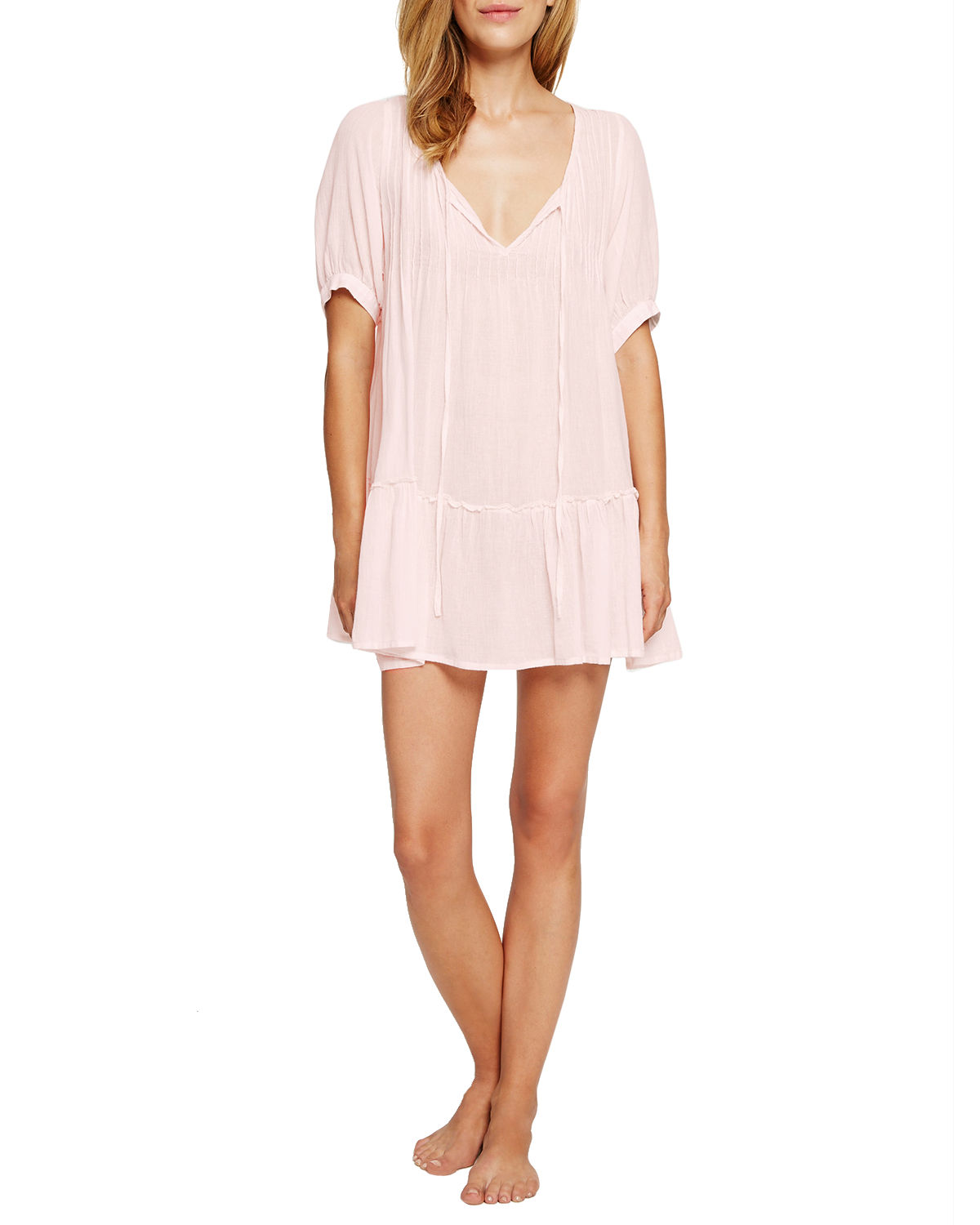Soft Pintucked Nightgown