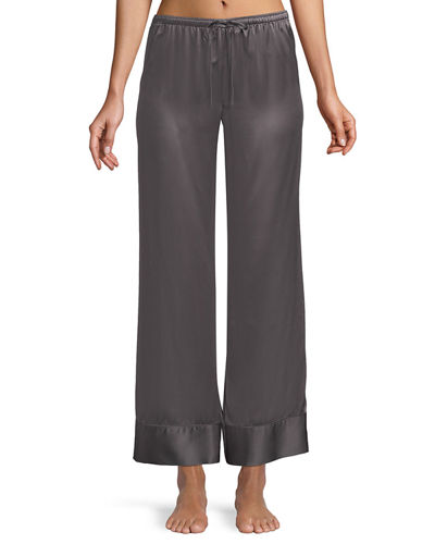 Relaxed Silk Lounge Pants