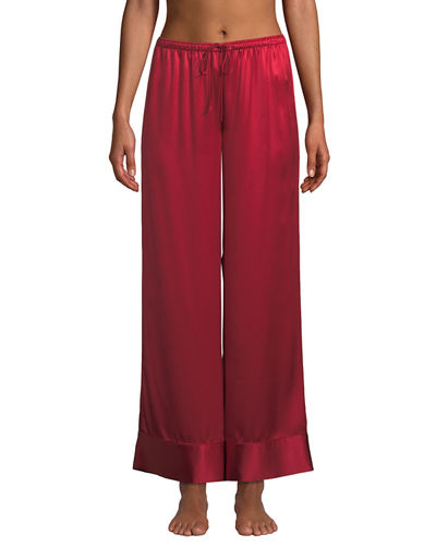 56d9feaa7911 Quick Look. Neiman Marcus · Relaxed Silk Lounge Pants
