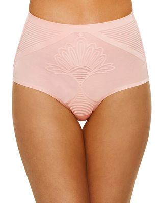 NANCY GANZ Enchante Mid-Rise Shaping Briefs in Blushing