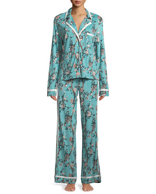 Bella Printed Long-Sleeve PJ Set