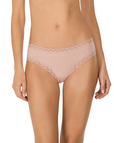 Bliss Girl Lace-Trim Bikini Briefs