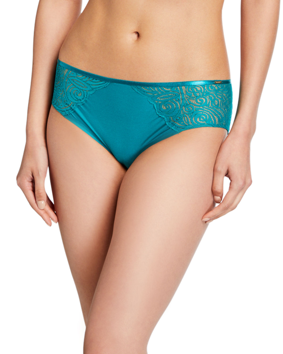 Chantelle Pants PYRAMIDE LACE-INSET HIPSTER BRIEFS