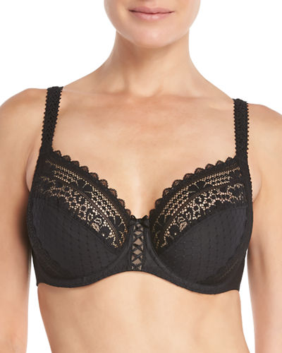 Maison Lejaby Hanae Three-Part Full-Cup Underwire Bra and