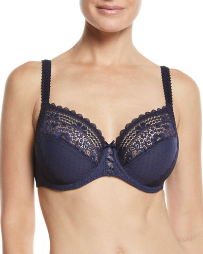 Hanae Three-Part Full-Cup Underwire Bra