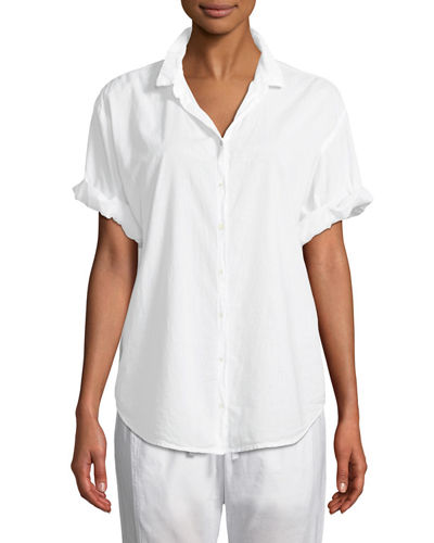 Channing Short-Sleeve Lounge Shirt