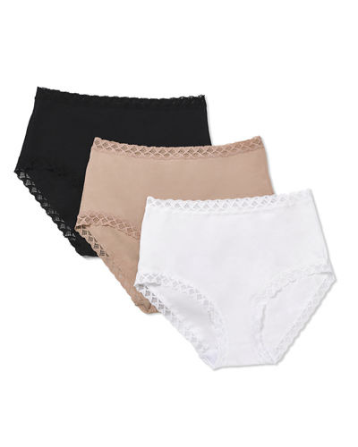 Three-Pack Bliss Full-Coverage Underwear Briefs