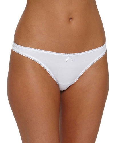 Pima Cotton Goddess Thong