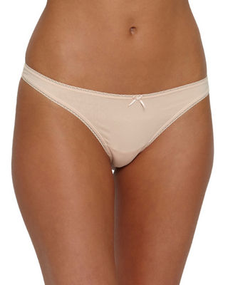 Eberjey Pima Cotton Goddess Thong