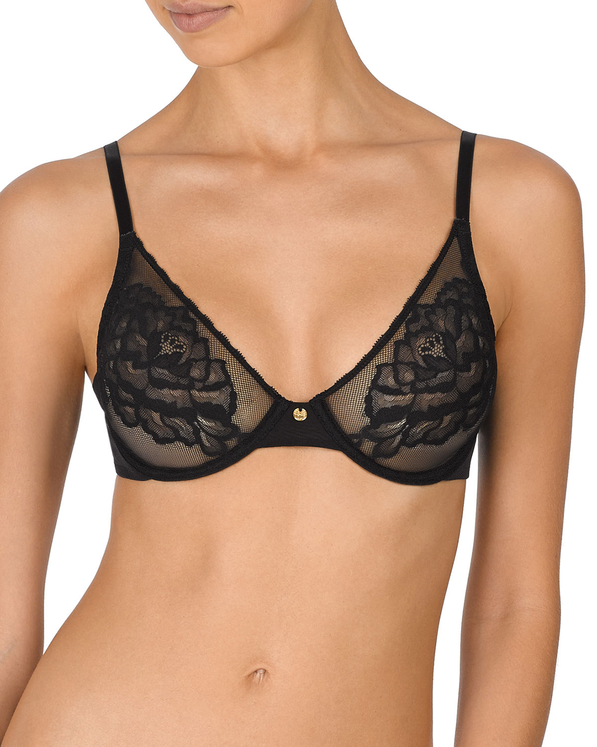 Flora Unlined Underwire Demi Bra