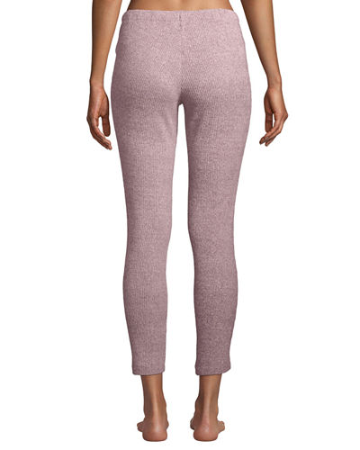 Ulla Ribbed-Knit Lounge Leggings