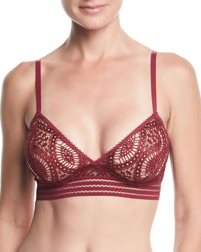 Baroque Lace Triangle Underwire Bra