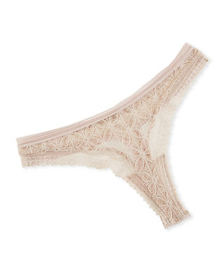 Else Chloe Lace Thong Underwear