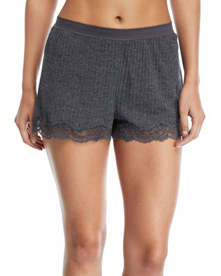 Stella McCartney Lily Blushing Lounge Shorts, Pink