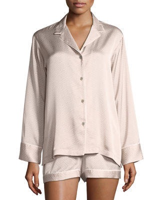 Natori Labyrinth Satin Short Pajama Set